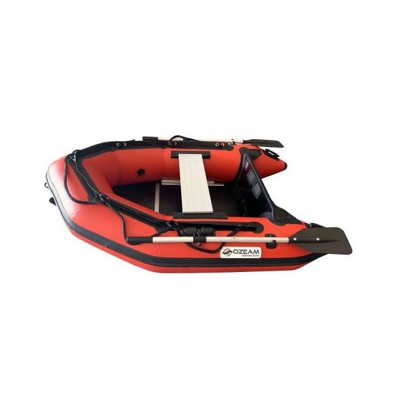 OZEAM Barca Hinchable 200m con suelo de madera y quilla (4 colores disponibles))