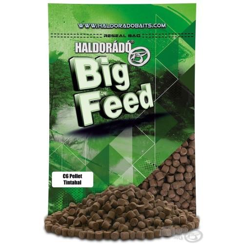 HALDORÁDÓ BIG FEED - C6 PELLET -TINTAHAL 900 g (squid octopus)