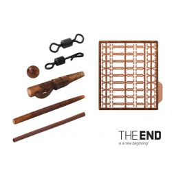 THE END The set of carp montages / 10 montajes