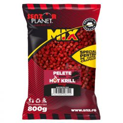 SENZOR PLANET MICROPELLETS HOT KRILL 6mm 800gr