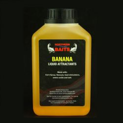 NORTHERN BAITS BANANA LIQUID FOOD 500 ML