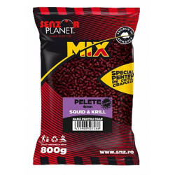 SENZOR PLANET MICROPELLETS SQUID&KRILL 4mm 800gr