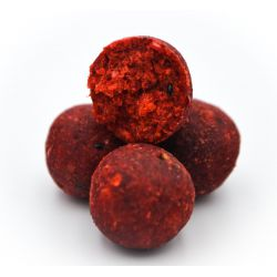 Massive Baits Boilies 18mm Strawberry Bergamota 1kg (Fresa&Bergamota)