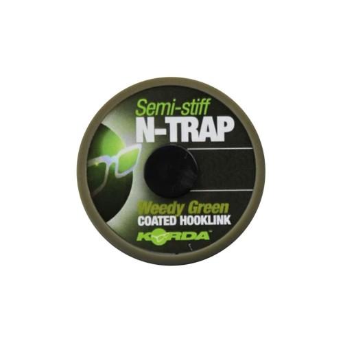 KORDA Semi Stiff N-Trap Weed Green 30Lb (20Metros)