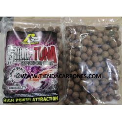 PeralBaits Boilies 20mm 1Kg KRILL+TUNA