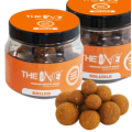 THE ONE BOILIES SOLUBLE HOOKBAITS 14/18/22mm YELLOW 150GR (scopex y caramelo)