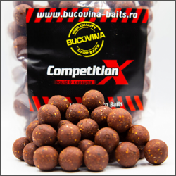 Bucovina Baits Competition X Squid Fresa 20mm 1kg soluble