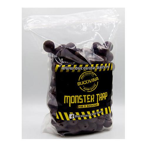 Bucovina Baits Monster Trap 1kg 20mm soluble (Cangrejo&Belachan)
