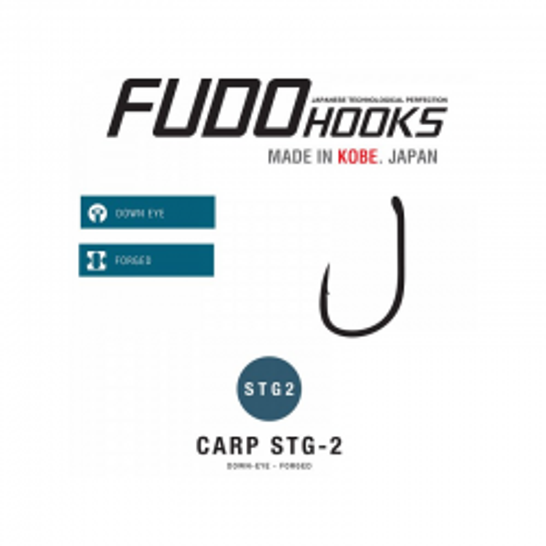 Fudo Hooks STG2-BN Talla 6 10unid