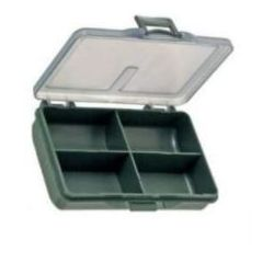 Zfish Caja para accesorios 4 compartimentos Terminal Tackle Box