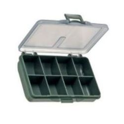 Zfish Caja para accesorios 8 compartimentos Terminal Tackle Box
