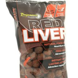 Boilies Starbaits Red Liver 20 mm 1kg
