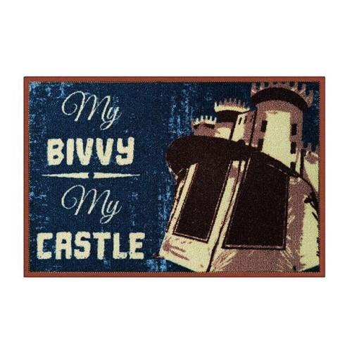 Alfombra My bivvy my castle 60x40cm