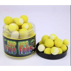 Poisson Boilies Flotantes 14-20mm Piña&Scopex TWO TONE 200ML