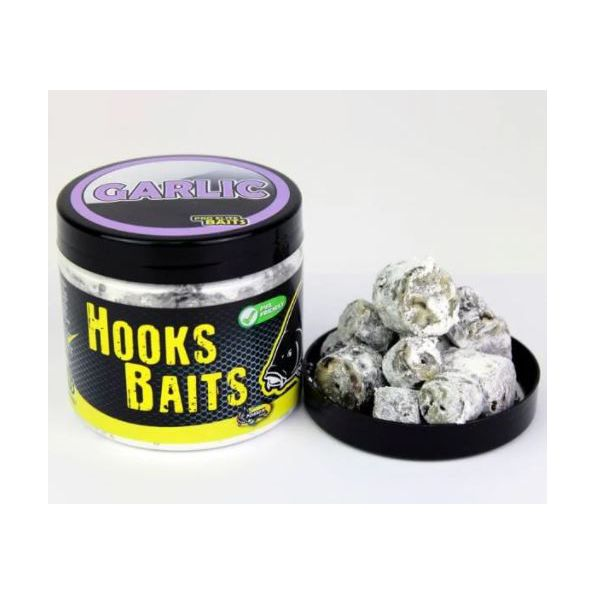Poisson Hook Pellets 14-20mm Powder dip GARLIC (AJO) 200ml