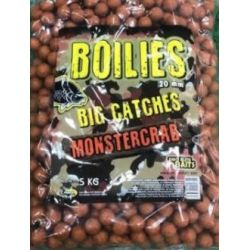 Boilies 5kg MONSTER CRABPoisson Fenag 20 mm ECO