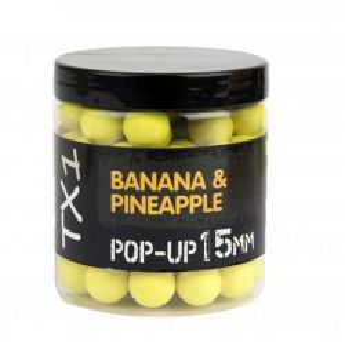 Shimano Bait TX1 Pop-Up Banana&Pineapple 15mm 100g Fluoro Yellow