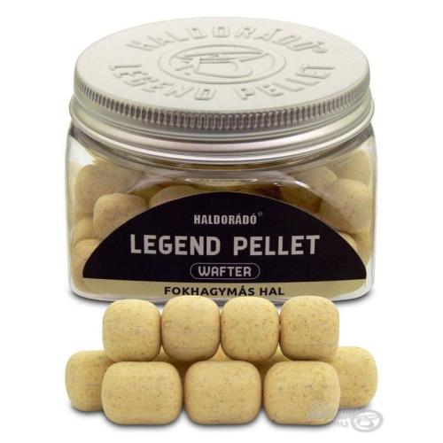 Haldorádó Legend Pellet Wafter Garlic & Fish 12, 16mm