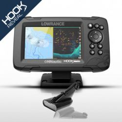 Lowrance HOOK Reveal 5 con Transductor HDI 50/200 600w. CHIRP/DownScan