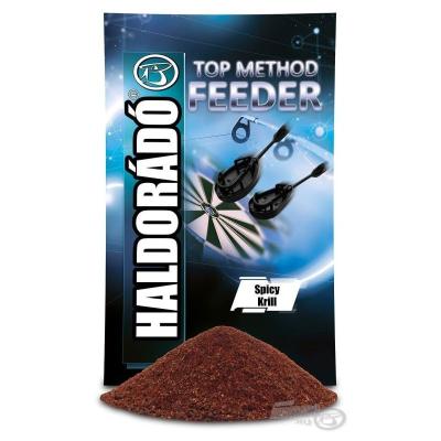 Haldorádó TopMethod Feeder Groundbait Spicy Krill 1kg