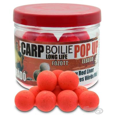 Haldorado POP UP Long Life Spicy Red Liver 16mm 40gr