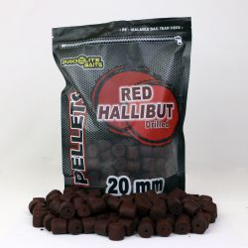 Poisson Fenag DRILLED RED HALLIBUT PELLETS 20mm