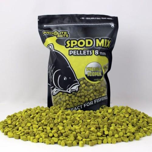 Poisson Fenag Pellets 8mm Spod Mix Piña&Scopex 1,8kg