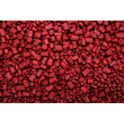 Poisson Bag Mix Pellets 3-4,5-6mm BANANA&STRAWBERRY 800GR