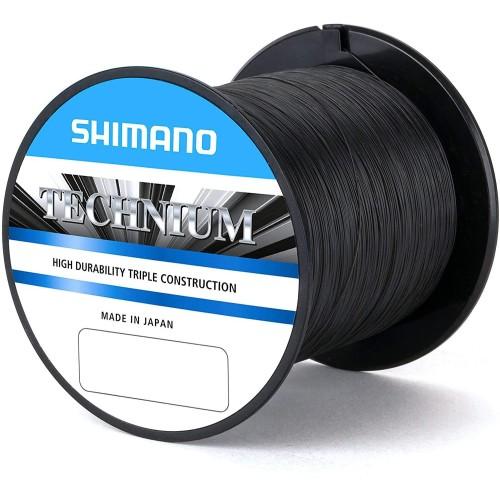 Nylon Technium Shimano 1100m 0.305mm 8.5kg Grey