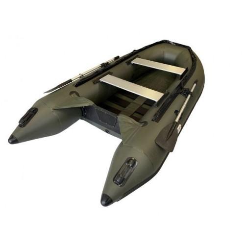 OZEAM Embarcación neumática 315 PROA en D con suelo de TABLILLAS