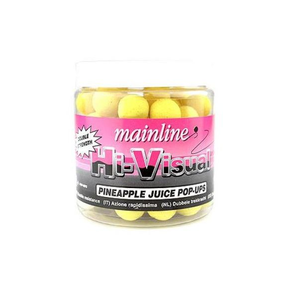 Mainline Hi-Visual Flotantes PINEAPPLE JUICE 15-mm 60 unidades