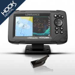 Lowrance HOOK Reveal 5 con Transductor HDI 83/200 Downscan