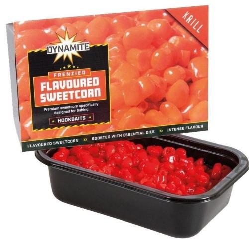 Dynamite Baits Frenzied Flavoured Sweetcorn Krill 250gr
