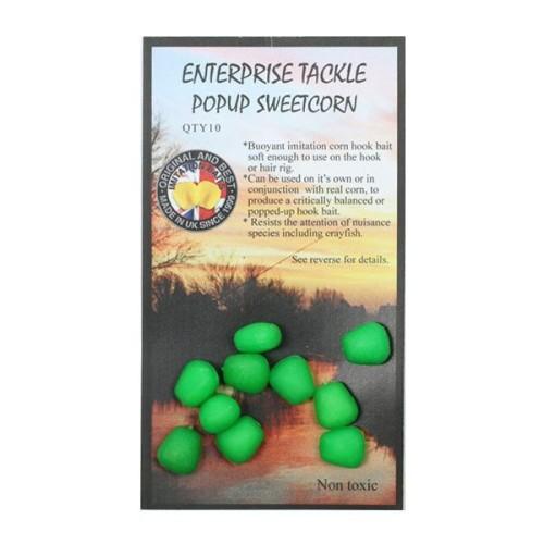 Enterprise Maiz Fluor Verde flotante 10unid (pop up sweetcorn)