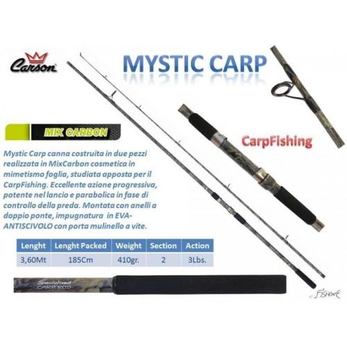 Carson MysticCarp 3.60M 3LBS 2 TRAMOS