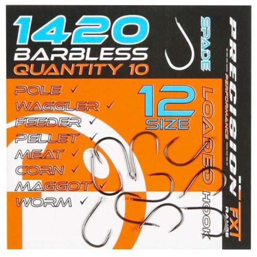 Frenzee Anzuelos 1420 Barbless Spade Hooks