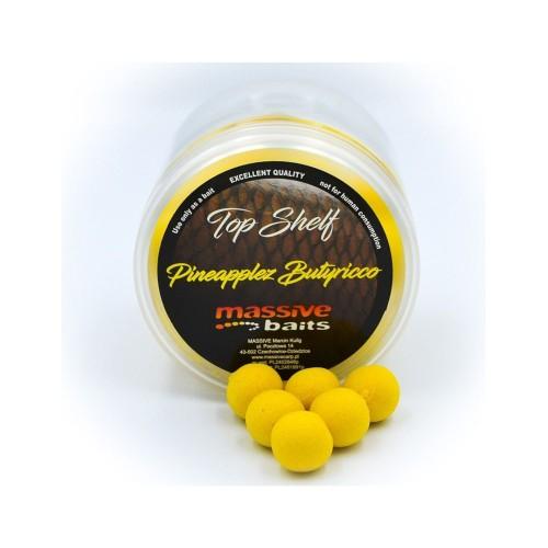 Massive Baits Pop-Ups Pineapplez Butyrico 14mm 200ml