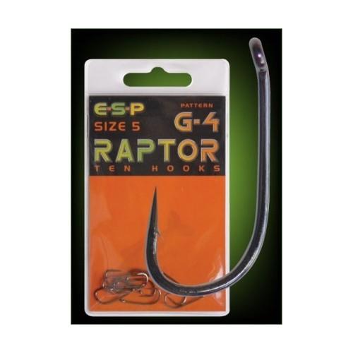 E.S.P. Anzuelo Raptor G-4 Numero 4