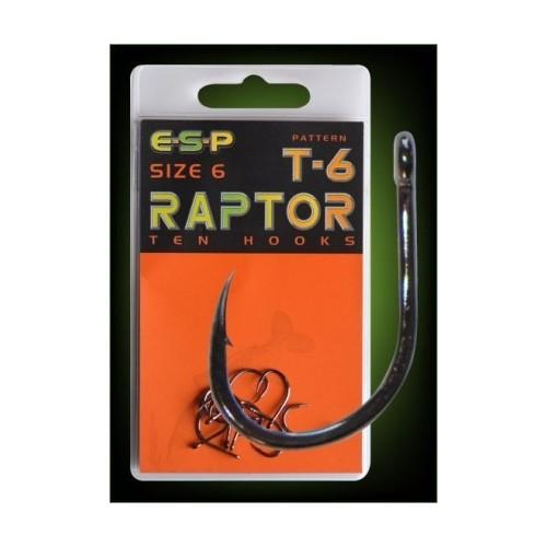 E.S.P. Anzuelo Raptor T-6 Numero 6