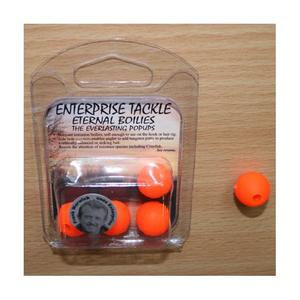 Enterprise Eternal Boilies 18mm fluro Naranja flotante(4 unid)