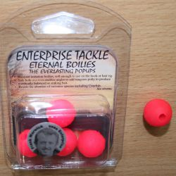 Enterprise Eternal Boilies 18mm fluro rosa flotante(4 unid)