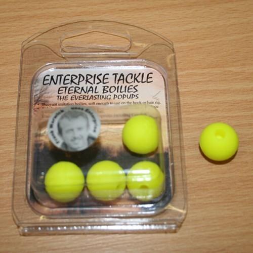Enterprise Eternal Boilies 15mm Amarillo flotante(5unid)