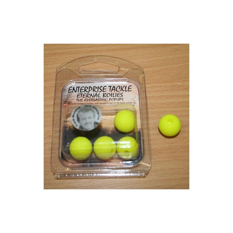 Enterprise Eternal Boilies 15mm Amarillo flotante(5 unid)