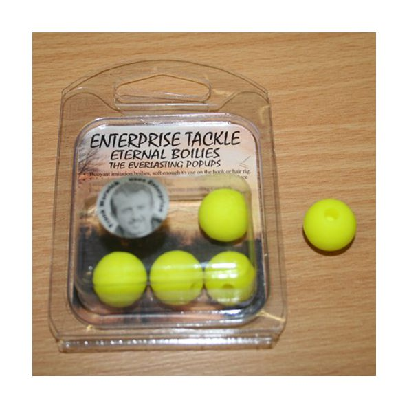 Enterprise Eternal Boilies 18mm fluor Amarillo flotante(4 unid)