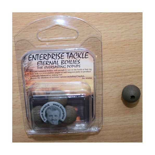 Enterprise Eternal Boilies 15mm Marron flotante(5 unid)