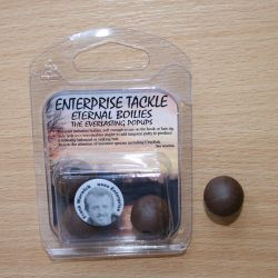 Enterprise Eternal Boilies 18mm Marron flotante(4 unid)