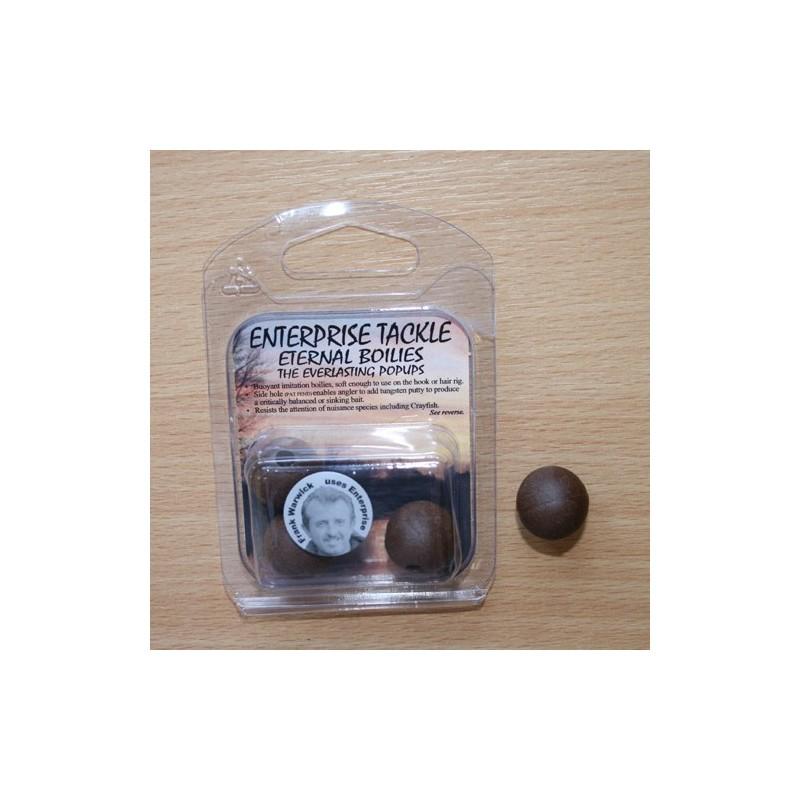 Enterprise Eternal Boilies 18mm Marron flotante(4unid)