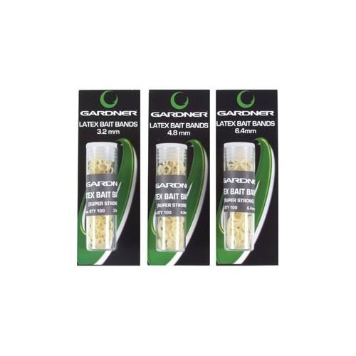 Gardner Gomas Latex para cebo Grandes 6,4mm 100unid