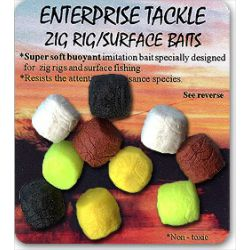 Enterprise Flotantes Zig rig colores Mixtos 10unid