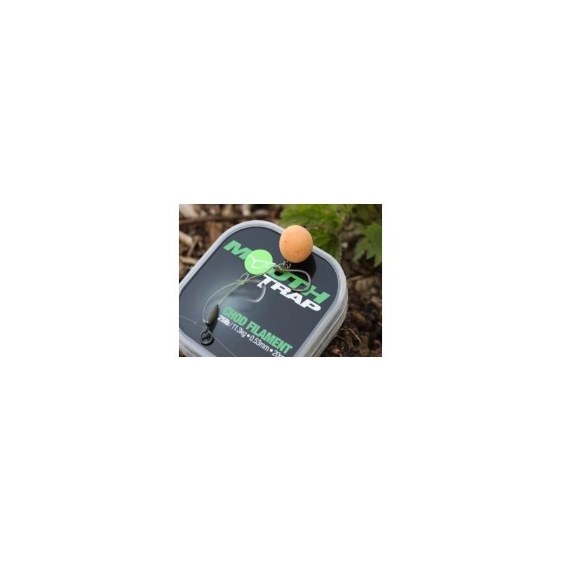 Korda Mouth Trap Fluorocarbono 20lb 0.47mm (novedad 2010)